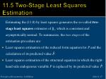 11 5 two stage least squares estimation2