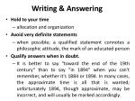 writing answering2