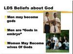 lds beliefs about god1
