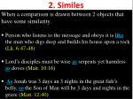 2 similes