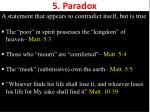 5 paradox