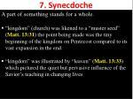 7 synecdoche