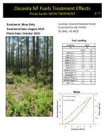 osceola nf fuels treatment effects photo guide mow treatment