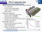 velo upgrade plan