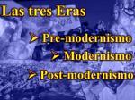 las tres eras