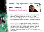 parent engagement self assess9