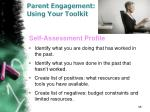 parent engagement using your toolkit