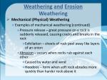 weathering and erosion weathering3