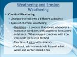 weathering and erosion weathering4