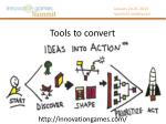 tools to convert
