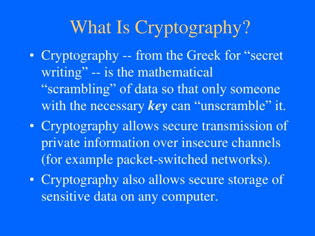 PPT - Public-key Cryptography PowerPoint Presentation - ID:2208939