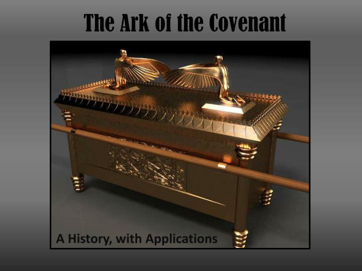 the ark of the covenant n.