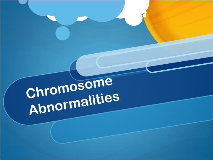 chromosome abnormalities n.