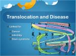 translocation and disease