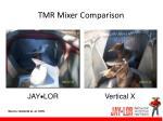 tmr mixer comparison
