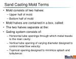 sand casting mold terms