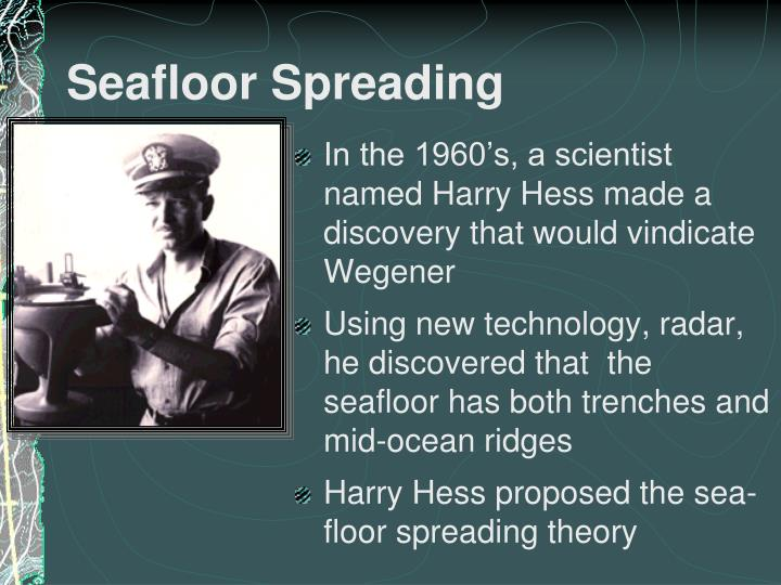 Ppt Sea Floor Spreading Powerpoint Presentation Id2209098