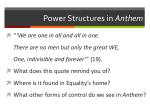 power structures in anthem