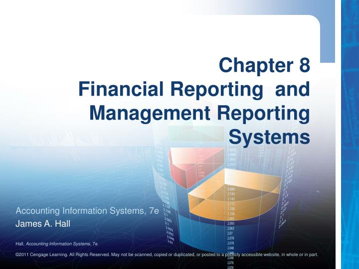 chapter 8 financial reporting and management reporting systems n.