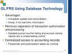 gl frs using database technology1