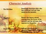 character analysis1