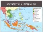 southeast asia imperialism