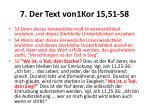 7 der text von1kor 15 51 581
