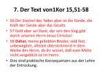 7 der text von1kor 15 51 582