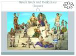 greek gods and goddesses input