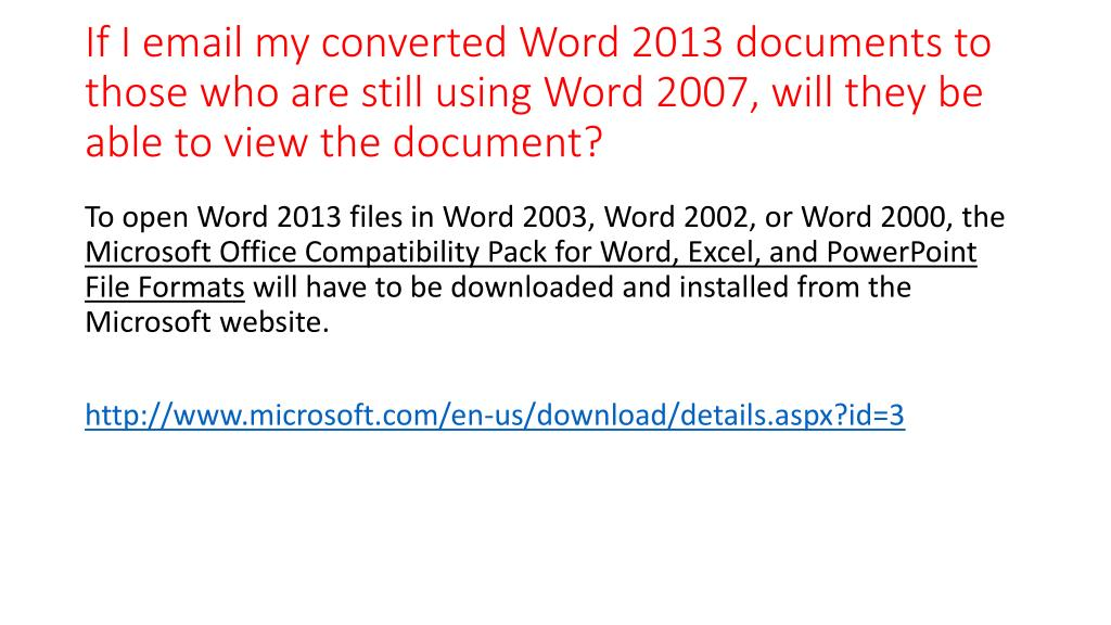 PPT - Introduction to Word 2013 PowerPoint Presentation - ID