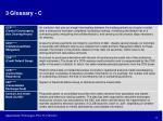 3 glossary c