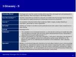 3 glossary s