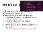 kfd ioc set create queue
