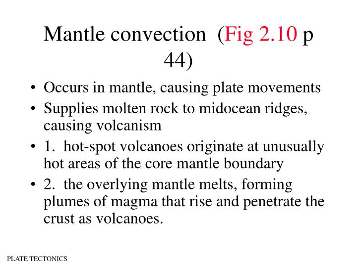 Mantle convection  (