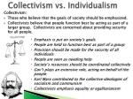 collectivism vs individualism1