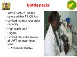 bottlenecks