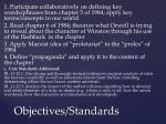 objectives standards1