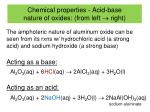 chemical properties acid base nature of oxides from left right1