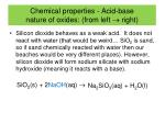 chemical properties acid base nature of oxides from left right3