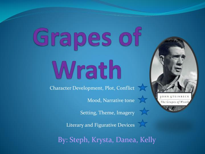 grapes of wrath n.
