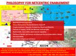 philosophy for netcentric enablement
