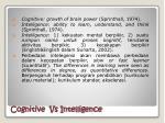 cognitive vs intelligence
