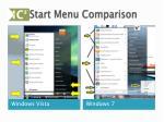 start menu comparison