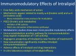 immunomodulatory effects of intralipid3