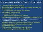 immunomodulatory effects of intralipid4