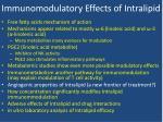 immunomodulatory effects of intralipid5