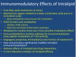 immunomodulatory effects of intralipid6
