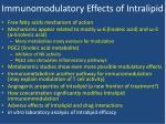 immunomodulatory effects of intralipid8