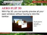 aero flip 3d