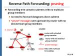 reverse path forwarding pruning